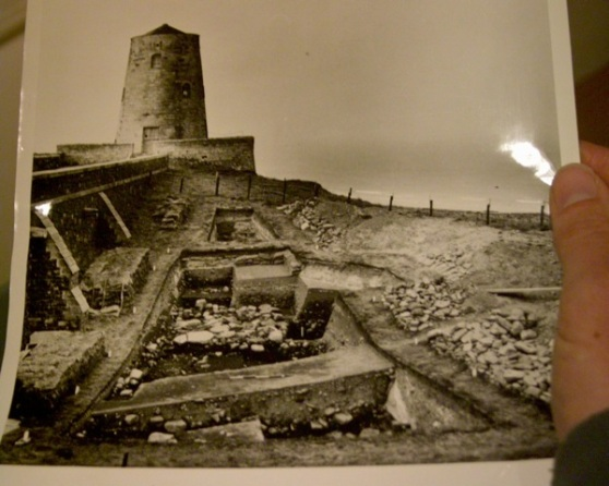 A photograph of BHT's excavation in the West Ward