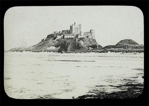 Bamburgh Castle in the 19th century