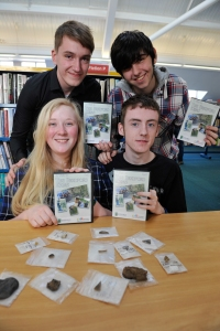 Callum, Jack , Cory, and   Georgia. Photo courtesy of the Berwick Advertiser.