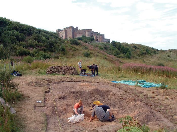 Excavation BH